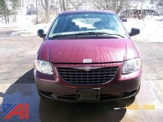 2002 Chrysler Voyager Minivan