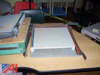 Paper Cutters, Kindergarten Tables