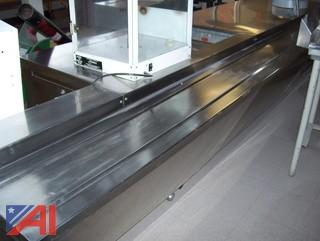19' Stainless Steel Serving Line