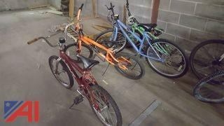 Lot of Assorted Bicycles