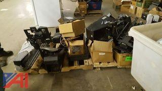 Lot of Patrol Car Internal Components