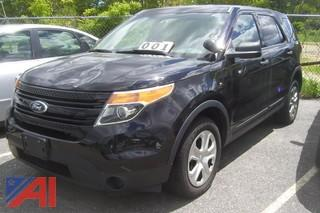 2013 Ford Explorer Police SUV