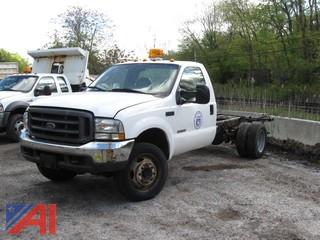 2004 Ford F550 Cab and Chassis