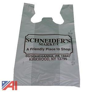Skid of TSAK Schneider's Market Printed Bags