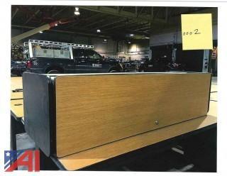 (31) Overhead Desk Storage Cubes