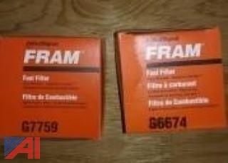 FRAM Filters. Air, Oil, Fuel, Hydraulic, and PCV Valves