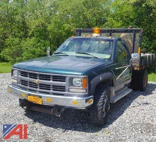 1998 Chevrolet Cheyenne K3500 Dump Truck