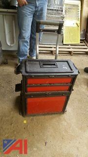 Tool Box Stacker on Wheels