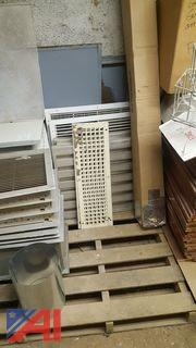Lot of Assorted Aluminum Grates and Grills