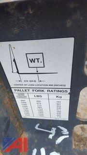 Bobcat Forklift Forks