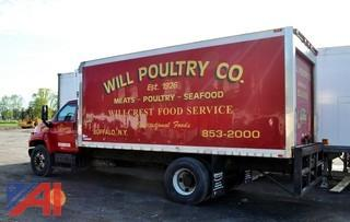 2005 GMC C7500 Morgan 20' Refrigerated Box Truck