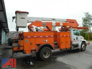 2003 Freighliner FL80 50' Bucket Truck(single person)