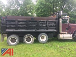 1988 International Eagle 9300 6x4 Dump Truck