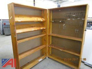 Puppet Show Booth, Closet & Cabinet
