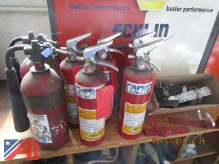 Fire Extinguishers, Sealant & Hardware