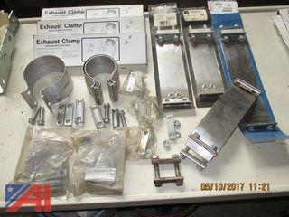 Exhaust Clamps, Hangers, Yokes, Brake Spring Kits
