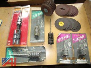Vent, Cylinder Hones, Grinding Discs & More