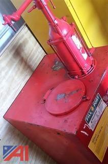 Air Run Oil Pump Tank