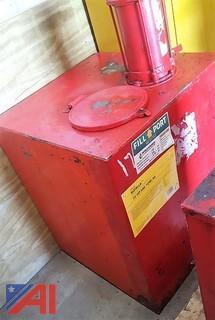 Hand Pump Oil Tank