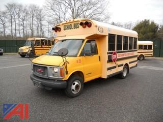 2002 GMC G3500 Corbeil Bus