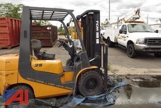 TCM FG25T7G Forklift