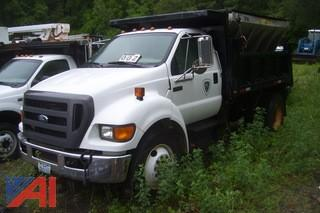 2005 Ford F650 Dump with Sander