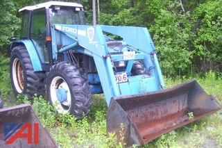 1995 Ford/New Holland 8240 4X4 Tractor