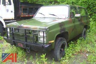 1985 Chevrolet CD10516 SUV