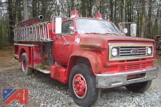 1980 Chevy C70 Fire Truck