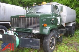 1989 GMC Top Kick 7000 Tank Truck