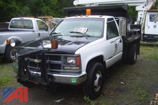 1996 Chevy 3500 4X4 Dump