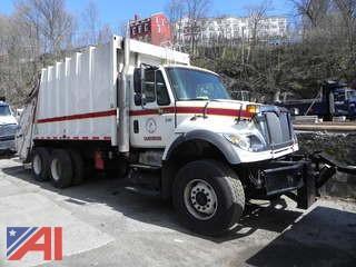 2003 International 7600 Rear Load Garbage Truck