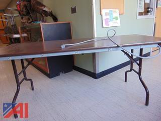 (6) Tables with Power Strip