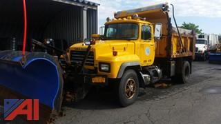 2004 Mack RD688P Dump/Salter with Plow