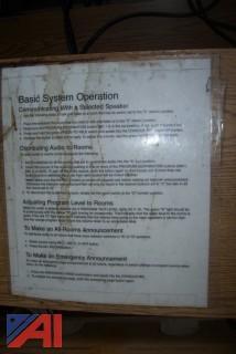 (10) Bogen Intercom Systems