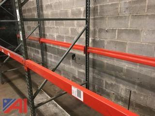 (9) Sections of Pallet Racking