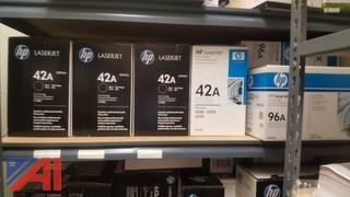 (175+) Lot of Unused Toner & Ink for Copy Machines & Printers