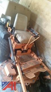 """SCAG Cougar 27 Hp Kawasaki with 48"""" mowing deck."""