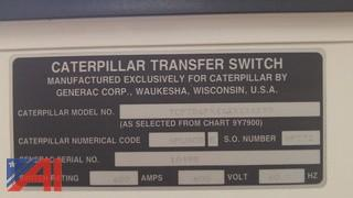 Caterpillar 600AMP transfer switch