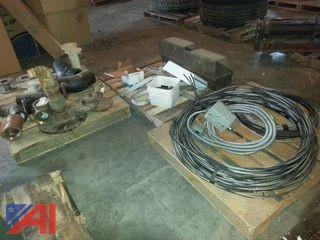 Lot of Miscellaneous Plumbing Hardware