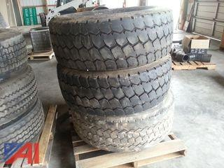 Lot of Used Truck Tires