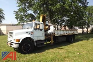 1995 International 4700 Utility/Boom Truck