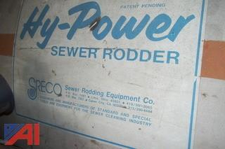 SRECO Trailer Mounted Sewer Rodder