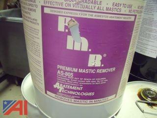 Lot of Premium Mastic Remover