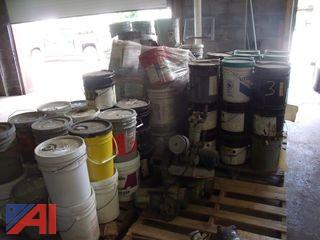 Large Lot of Assorted Mixed Paints, Stains and More!