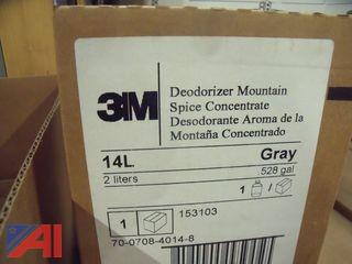 Lot of 3M Deodorizer Moutain Spice Concentrate