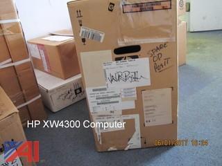 (1) New Hp XW4300 Computer