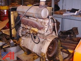 John Deere Paver Motor Engine