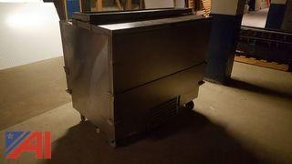Delfield Stainless Steel Drop Front Refrigerator