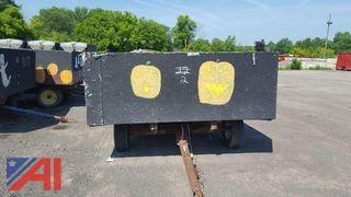 Wood Sided Hay Wagon